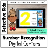 Number Recognition Centers Distance Learning