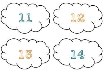 Number Recognition Cloud Match