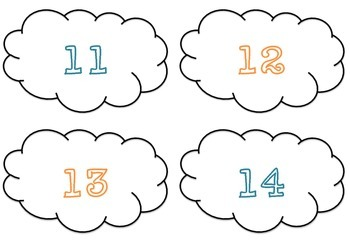 Number Recognition Cloud Match