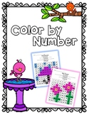 Number Recognition - Color by Number