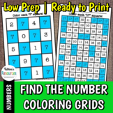 Find the Number Coloring Grids