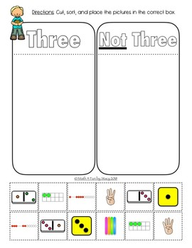Number Recognition - Counting / Subitizing