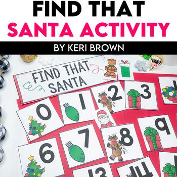 Number Recognition - Find That Santa