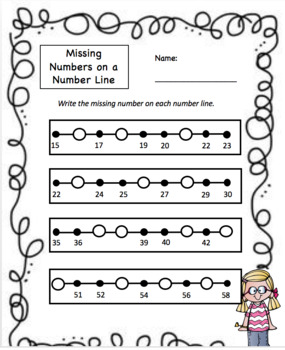 Number Recognition First Grade