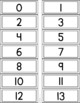 Number Recognition Folder System for Practicing and Assessing Number Recognition