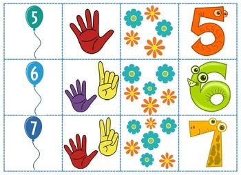 Number Recognition Game (1-10)