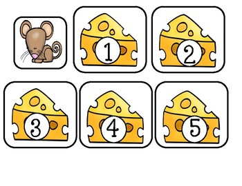 Number Recognition Game ~ Mouse And Cheese