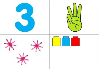Number Recognition Game for All Seasons