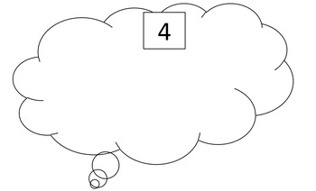 """Number Recognition- Game in Spanish and English """"Pienso En"""" """"I'm thinking of"""""""