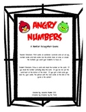 Number Recognition Game with Angry Birds