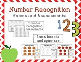Number Recognition Games and Assessments