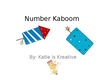 Number Recognition Kaboom