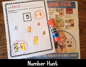 Number Recognition, Letter Discrimination, Sight Word