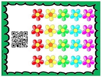 Number Recognition Mats with QR Codes