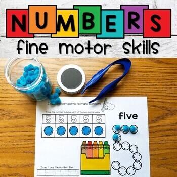 Number Recognition Worksheets