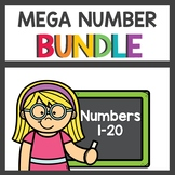 Pre K Number Practice Bundle