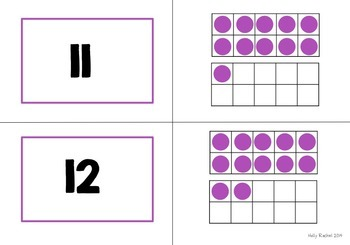 Number Recognition Memory Pairs Game