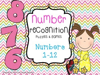 Number Recognition: Numbers 1-12