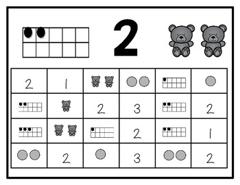 Number Recognition Pack Numbers 0-20
