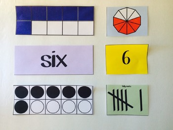 Number Recognition - Pocket Chart