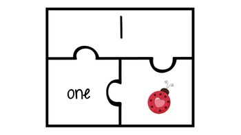 Number Recognition Puzzle