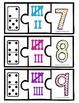 Number Recognition Puzzle: Domino, Tally Marks, Numbers 1-10
