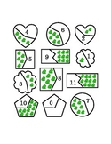 Number Recognition Puzzles Cut Pieces Mix Match Spring Fro