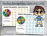 Number Recognition - Spin and Cover