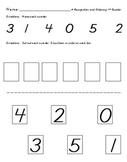 Number Recognition Test 0-5