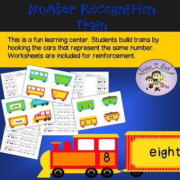 Number Recognition Trains for 1 - 10