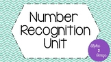 Number Recognition Unit for Life Skills and Autism Classrooms