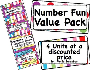 Number Recognition Value Pack