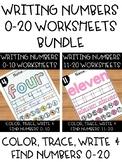 Number Sense Worksheets: Writing, Spelling & Recognizing N