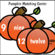Number Recognition Worksheets and Centers Fall Theme