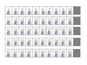 Number Recognition and Counting 1 to 50