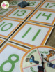 Number & Counting Activity: 0-20 Spin, Toss, and Count Activity