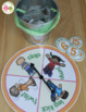 Number Activity: 0-20 Spin, Toss, and Count Activity