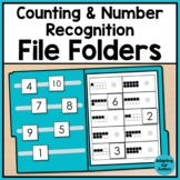 Number Recognition and Counting File Folder Activities for Special Education