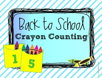 Number Recognition and Counting Practice - Back to School