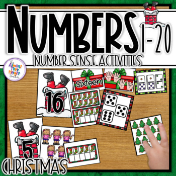 Christmas Number Matching and Sorting 1-20
