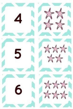 Number Recognition and Matching 1-9
