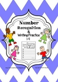 Number Recognition and Writing Practice 1-9