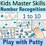 Number Recognition for Numbers 1 to 10 - Fine Motor Pencil