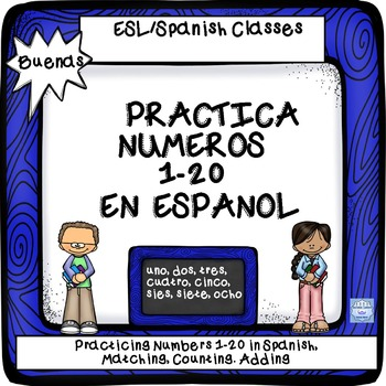BUENAS:Number Recognition in Spanish 1-20