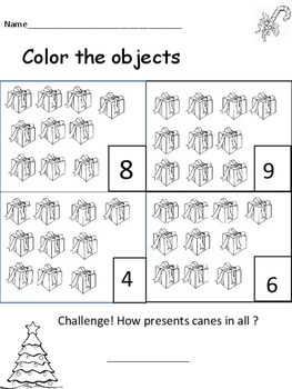 Number Recognition packet