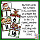 Christmas Number Recognition - tens frame & counting cards - 1-20