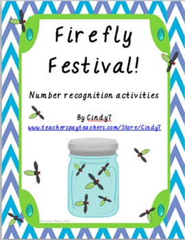Number Recognition to 10 with a Firefly Festival!