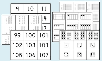 Number Recognition to 120 Kit {Intervention, Special Ed}