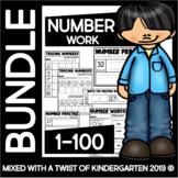 Number Recognition Worksheets | Counting Worksheets | Grade One | Kindergarten