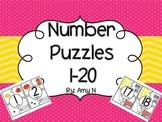 Number Sense : Number Puzzles 1-20